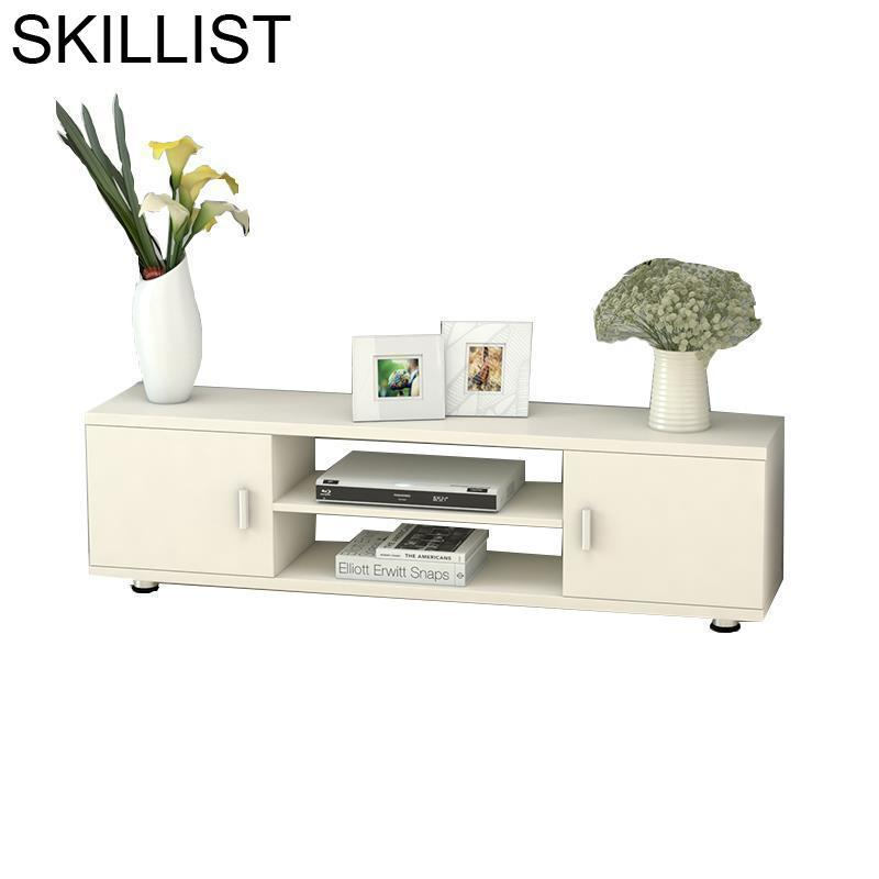 Support Ecran Ordinateur Bureau Soporte Para Entertainment Center Flat Screen Wood Monitor Mueble Table Meuble TV Stand