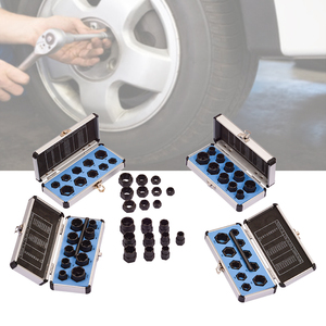 10pcs/Set 11pcs/Set Damaged Bolts Nuts Screws Remover Extractor Removal Tools Set Threading Tool Kit Black Nuts With 6 Styles