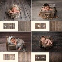사진을위한 신생아 배경 아기 샤워 생일 파티 나무 바닥 사진 배경 어린이 스튜디오
