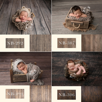 Newborn Backdrop for Photography Baby Shower Birthday Party Wood Floor Photo Background for Children Studio vinyl photography backdrops wood floor children background computer printing backdrop for photo studio floor 010