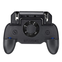 3 in1 SR1 Mobile Gamepad Controller for PUGB Fast Shooting Button Trigger WITH Cooling Fan as Power Bank