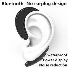 Y12 TWS orecchio appeso auricolari wireless cuffie musicali auricolari sportivi Mini auricolare Bluetooth adatto per xiaomi huawei iphone