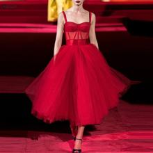 Homecoming-Dresses Tulle Party-Gown Vestidos-De-Graduation-Robes Red Sweetheart Mini