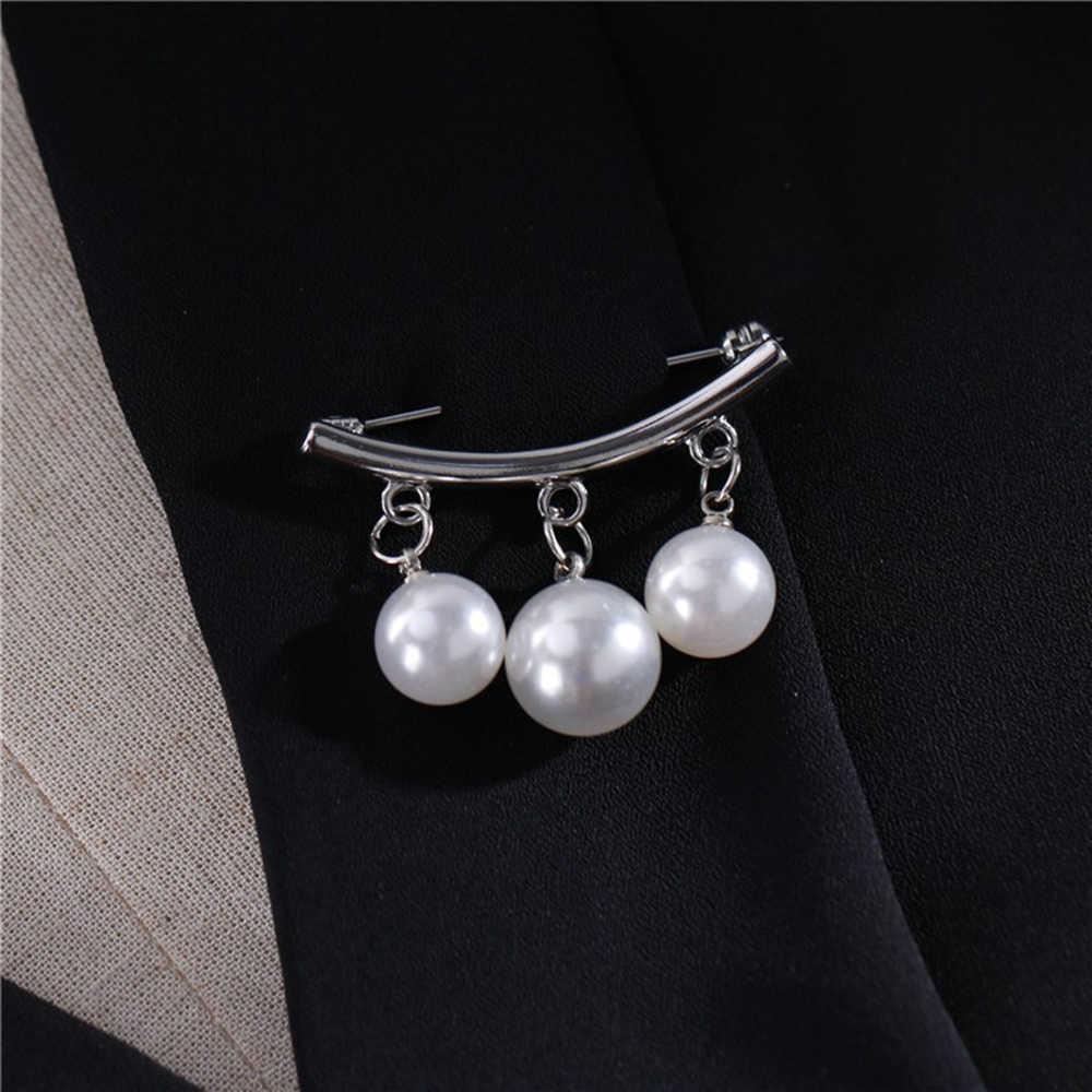 Ngọc trai Thổ Cẩm Nữ Dự Tiệc Cưới Chân Hợp Thời Trang Trang Sức tùy chỉnh Đơn Giản Dễ Thương nữ Phụ Kiện Trâm Cài Tráng Men