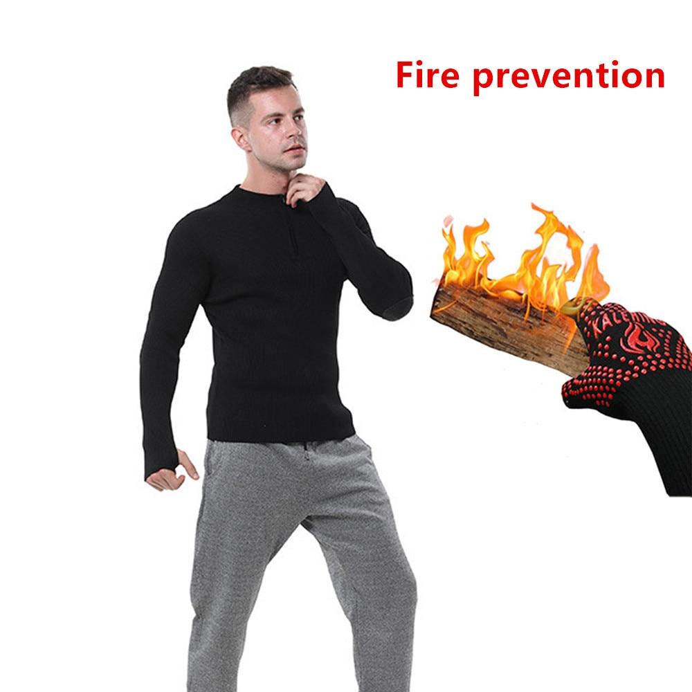 Огнезащитная одежда Высокая термостойкая Защитная куртка огнезащитная одежда огнестойкие Топы теплоизоляция сопротивление