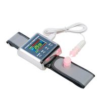 Household Laser Physiotherapy Wrist Diode LLLT for Diabetes Hypertension Treatments Diabetic Watch Laser Sinusitis Therapy
