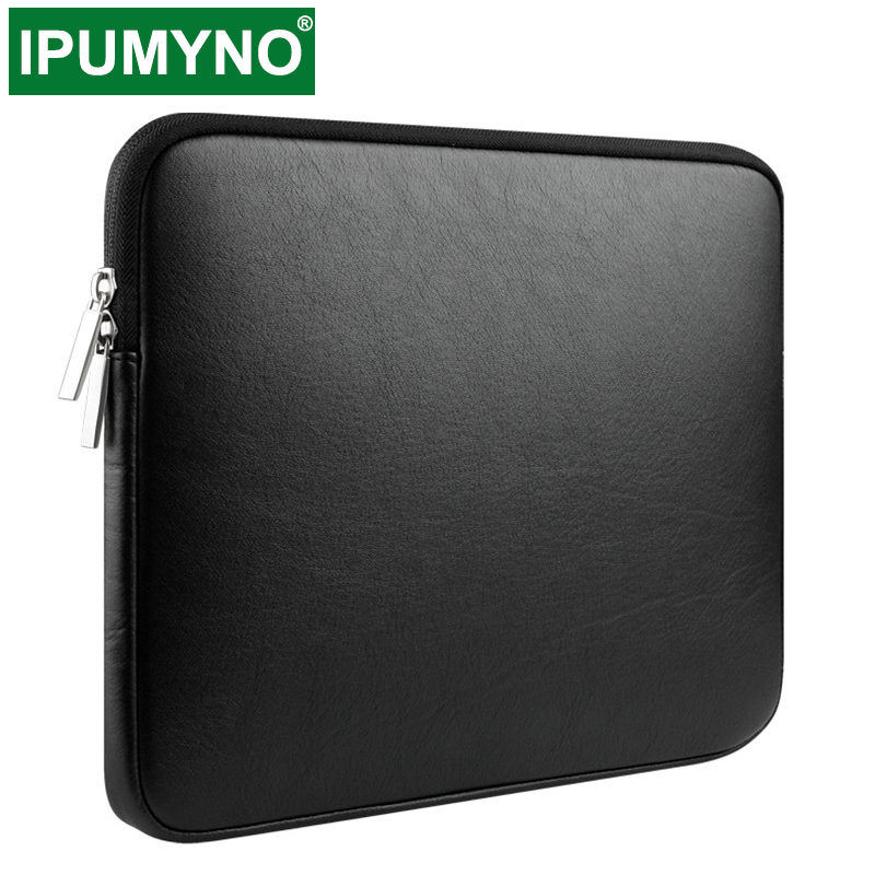 PU Waterproof Laptop Bag Sleeve Case Cover For Xiaomi Lenovo Macbook Air Pro 13.3 15.4 11 12 13 15 Notebook Computer Accessories