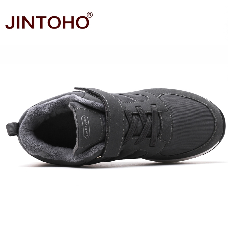 Image 5 - JINTOHO Winter Leather Sneakers Fashion Unisex Leather Shoes Breathable Men Sneakers Casual Male Shoes Men Winter Snow ShoesMens Casual Shoes   -