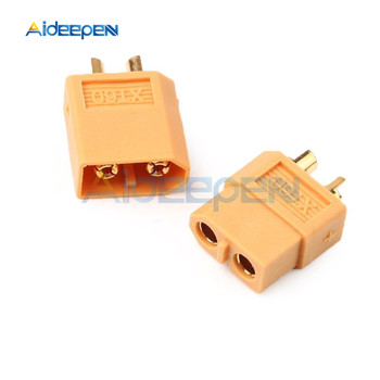 XT60 XT-60 Male Female Bullet Connectors Plugs Banana Plug For RC Lipo Battery Parts image