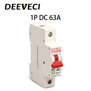 6A 10A 16A 20A 25A 32A 40A 50A 63A DC 250V micro circuit breaker 1P DC Solar mcb miniature circuit breaker 2p 32a dc 440v circuit breaker mcb