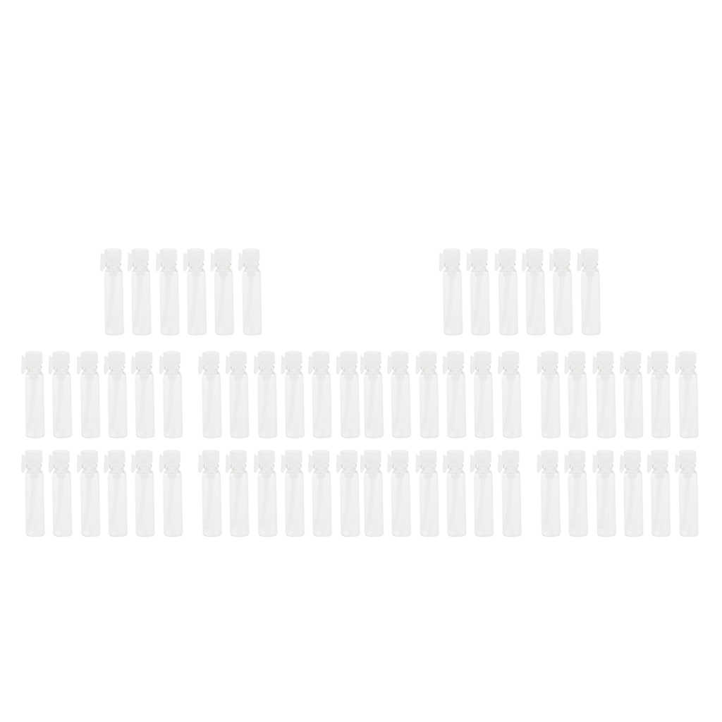 Bộ 60 Di Động Du Lịch Bình Rỗng Mini Thủy Tinh Đựng Lọ Mẫu Lọ Cho Kem Tinh Dầu Nước Hoa Lỏng Ốp Lưng