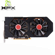 Xfx Radeon RX580 4Gb GDDR5 Grafische Kaarten Amd Gpu Rx 580 4Gb Pc Gaming Videokaart Desktop Gamer video Card Gebruikt Video Kaarten