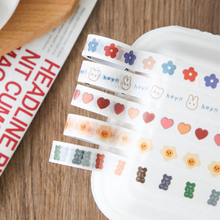 Masking-Tape Scrapbooking School-Supplies Decoration Washi Creative Mohamm And 20pcs