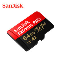 Sandisk Micro Sd Extreme Pro 128Gb Sd-kaart Max 170 Mb/s A2 V30 U3 64G 256G Tf flash Card 4K Uhd Cartao De Memoria 1Tb Geheugenkaart
