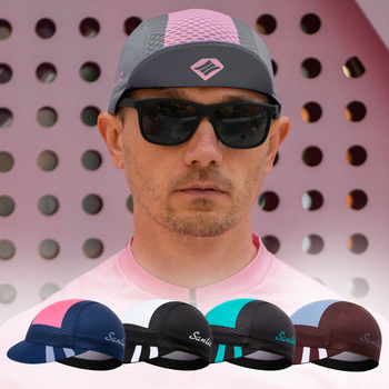 Santic Cycling Cap Cycling Hats Sports Outdoor MTB Road Bike Hats  Head Wear Hats Free Size Cycling Clothing W0P059 2020 style cycling road bike frame blue camouflage bike frameset v brakes seatpost frok headset made in china free shipping