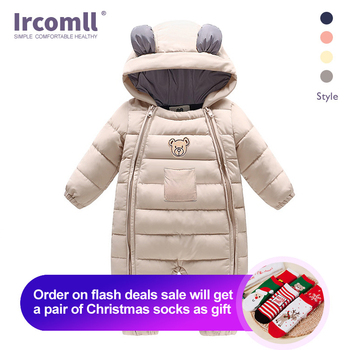 Ircomll Baby Boy Clothes Newborn OVeralls Infant Jumpsuit Thick Warm Snowsuit Children Boy Clothing kids clothing winter rompers baby girl newborn clothes children boys girls jumpsuit kids down cotton overalls snowsuit hoodies warm clothing
