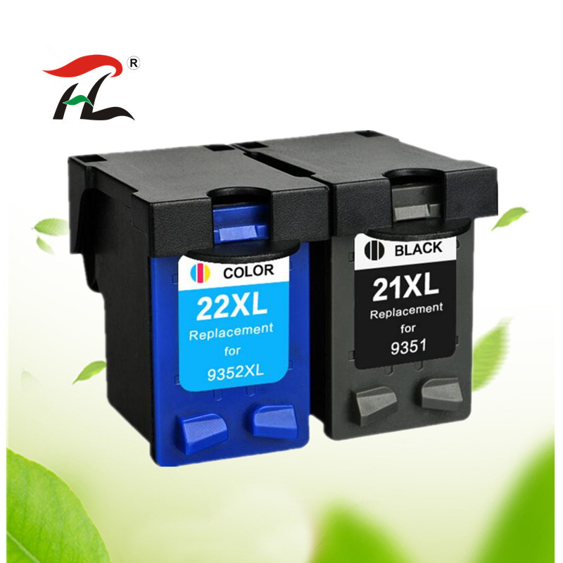 Ink-Cartridge Printer Hp21 Hp22 F4180 Compatible F2280 21-22-21xl Deskjet F2100 for 22XL title=