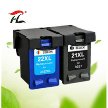 Compatibele inkt cartridge voor hp 21 22 21XL 22XL voor hp 21 voor hp 22 voor printer deskjet 3915 3920 D1320 F2100 f2280 F4180(China)