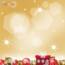 Yeele Christmas Bokeh Lights Balls Decor Customized Photography Backdrops Personalized Photographic Background For Photo Studio стоимость