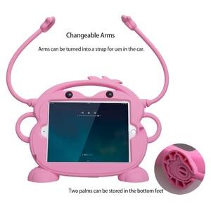 Image 2 - ילד בטיחות Tablet Case עבור iPad mini 1 2 3 4 5 ילד ידידותי לשאת עמיד הלם 7.9in רחיץ Stand סיליקון מקרה עבור iPad 2 3 4