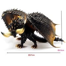 Monster Hunter XX World оригинальные объемные очки фабрика MHW бесконечный Дракон Фигурка коллекция декоративные детские игрушки подарок