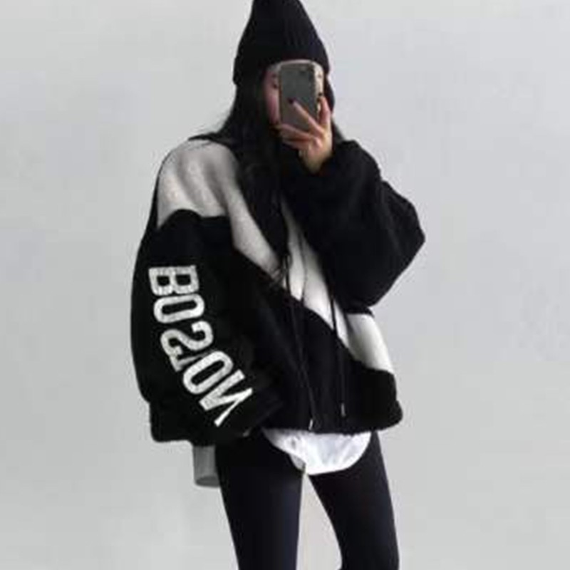Купить genayoa корейская куртка на подкладке из овечьей шерсти уличная
