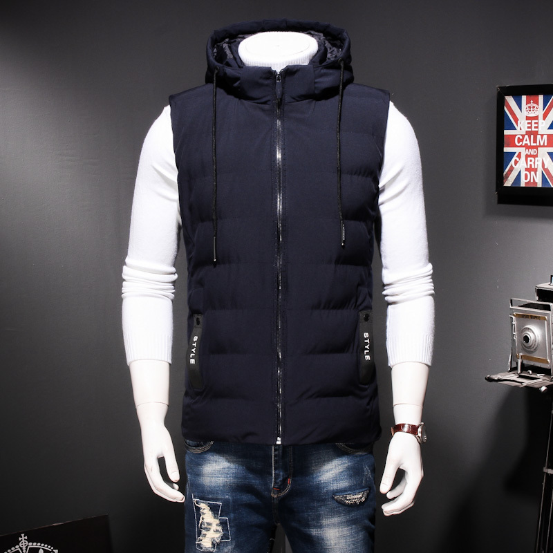 Plus Size  Autumn Winter Men Coat Warm Sleeveless Jacket Casual Men Vest Coat Waistcoat Ultra Light Down Vest Men XL-8XL