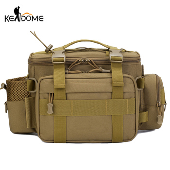 3l 6l outdoor climbing bags military tactical backpacks waterproof oxford molle camping pack hiking waist bags mochila militar Men's Tactical Sling Shoulder Bag Waist Bags Military Fishing Shoulder Sling Climbing Hiking Camping Mochila Outdoor Pack XA311D