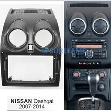 9 дюймов Автомобильная панель Радио панель для NISSAN Qashqai 2007- Dash комплект установка переходная консоль Рамка адаптер крышка Накладка