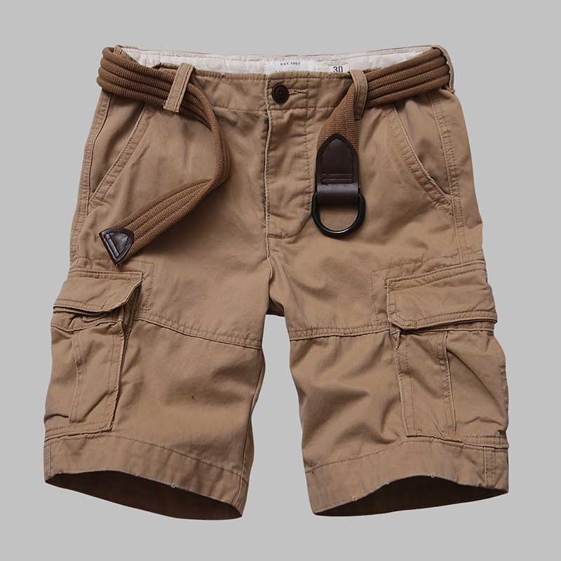 Premium Quality Camouflage Cargo Shorts Men Casual Military Army Style Beach Shorts Loose Baggy Pocket Shorts Male Clothes