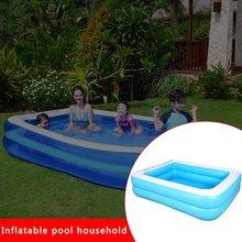 Надувной бассейн ребенок взрослый домашний детский бассейн утолщенной износостойкой детей морской мяч бассейн