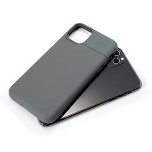 Image 5 - Pour iPhone 11 étui glissière armure portefeuille fentes pour cartes housse de support pour iPhone 11 Pro Max affaires coque antichoc dur