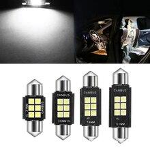 Автомобильный светодиодный ламповая гирлянда 31 мм 36 мм/39 мм/41 мм 272 C5W C10W SV8.5 супер яркий 3030 SMD свет Автомобильный плафон внутреннего освещения фонарь для легкового автомобиля