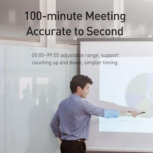Image 5 - Baseus Digital LED Timer Küche Magnetische Countdown Countdown 99 Minuten 55 Sekunden Kochen Alarm für Kochen Lehre Treffen