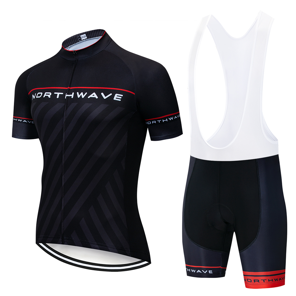 Northwave 2019 NW Summer Short Sleeve Cycling Jersey Set Men outdoor Cycling Clothing MTB Bike cycling sweatshirts Quick drying|Cycling Sets| |  - title=