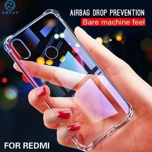 Airbag Silicone Phone Case For Redmi Note 8 8T 7 S 7A 6 5 5A 4X 4A Soft TPU Phone Phone