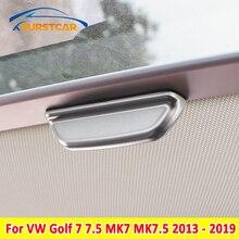 Xburstcar Auto für Volkswagen VW Golf 7 7,5 MK7 MK 7,5 2013 2019 ABS Innen Sonne Dach Tür Griff schutz Abdeckung Trim Aufkleber