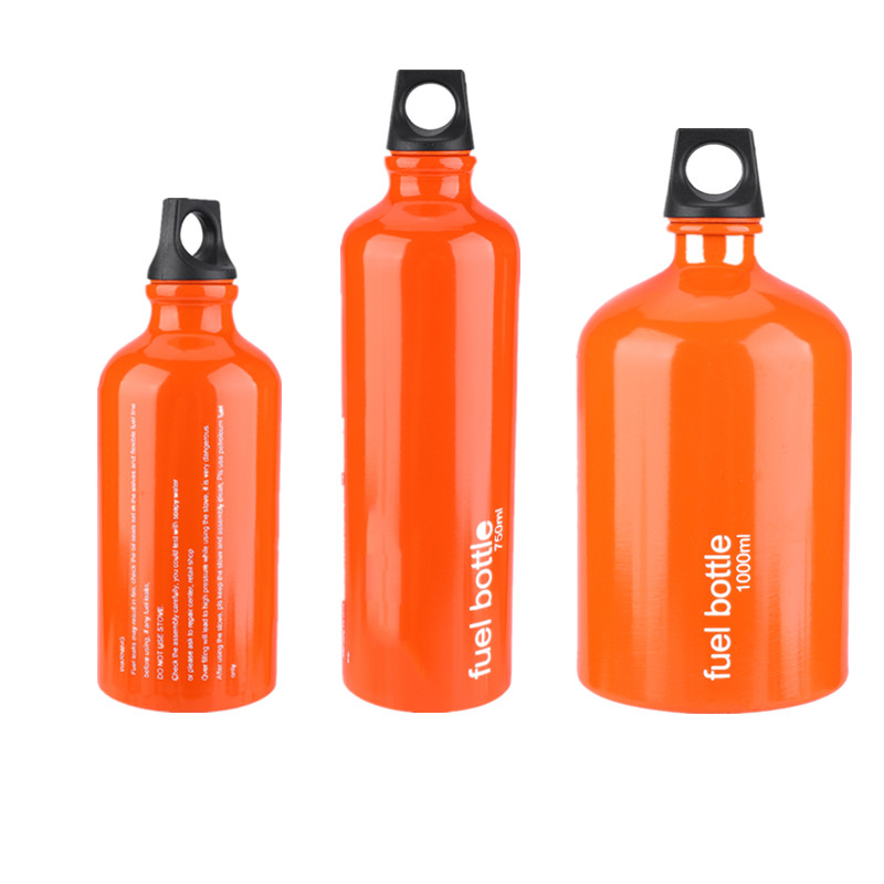 Liquid Gas Fuel-Bottle-Storage Picnic-Tool Kerosene Alcohol Outdoor Camping For 750ml/1000ml