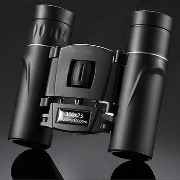 300X25 Professional Binoculars Powerful 50000M Broadband Green Film Portable Telescope HD Quality BAK4 Prism Monocular Camping 1