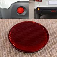 Citall vermelho esquerdo traseiro refletores redondos luz reflexiva tiras apto para nissan qashqai 2007 2008 2009 2010 2011 2012 2015|Tiras reflexivas| |  -