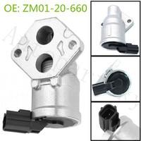 ZM0120660 1.6L ZM01 20 660 OEM Válvula De Controle De Ar Ocioso Para Mazda Protege 1999 2003 BY2Y 20 660 BY2Y20660 AC273 2H1192 AC4073|Válvula de Controle de ar ocioso| |  -