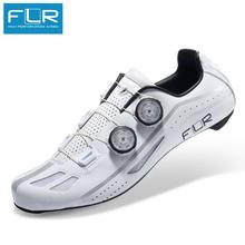 FLR obuwie rowerowe z włókna węglowego 2020 nowe szosowe oddychające buty rowerowe FXX tanie tanio Dla dorosłych Syntetyczny Średnie (b m) Slip-on F-xx Pasuje prawda na wymiar weź swój normalny rozmiar