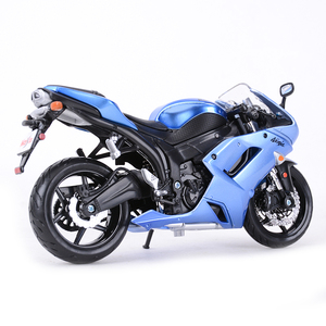 Image 3 - Maisto 1:12 Kawasaki Ninja ZX 6R Blue Die Cast Vehicles Collectible Hobbies Motorcycle Model Toys