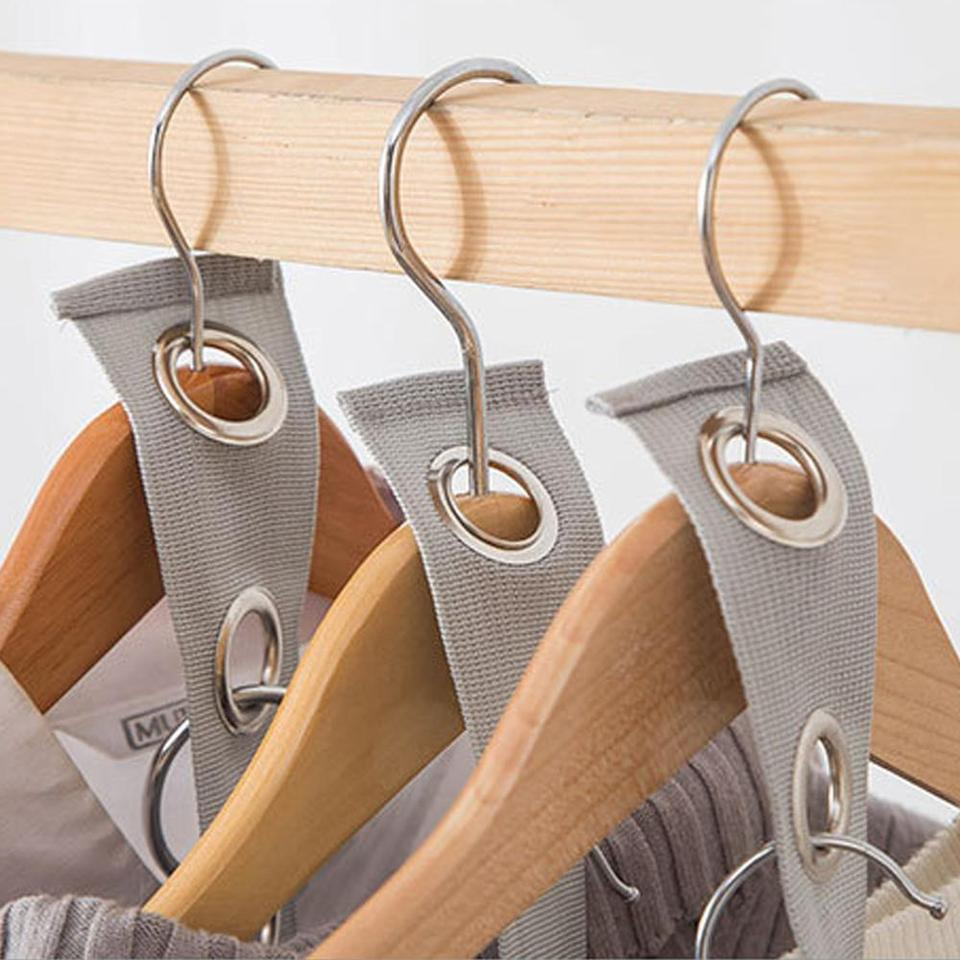 Closet Hanger Wonder Space Save Magic Extension Connection Clothing Rack Band Clothes Stand Clothes Tree Bedroom Accessories Q3 Hangers Racks Aliexpress
