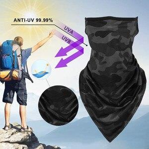Шарф бандана Быстросохнущий пыленепроницаемый бесшовный для мужчин и женщин, спортивная повязка на голову, платок, бандана