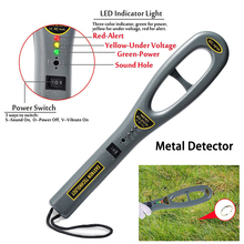Professional Underground Metal Detectors Handheld Security High Sensitivity Scanner Finder Instrument Treasure Hunter Detector