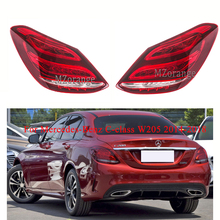 MIZIAUTO Tail Rear Light For Mercedes-Benz C-class W205 2014-2018 Taillight Stop Lamp tail lamp Brake Light Tail Light Assembly for chery a3 sedan reversing light rear tail lamp assembly brake light lamp tail light assembly