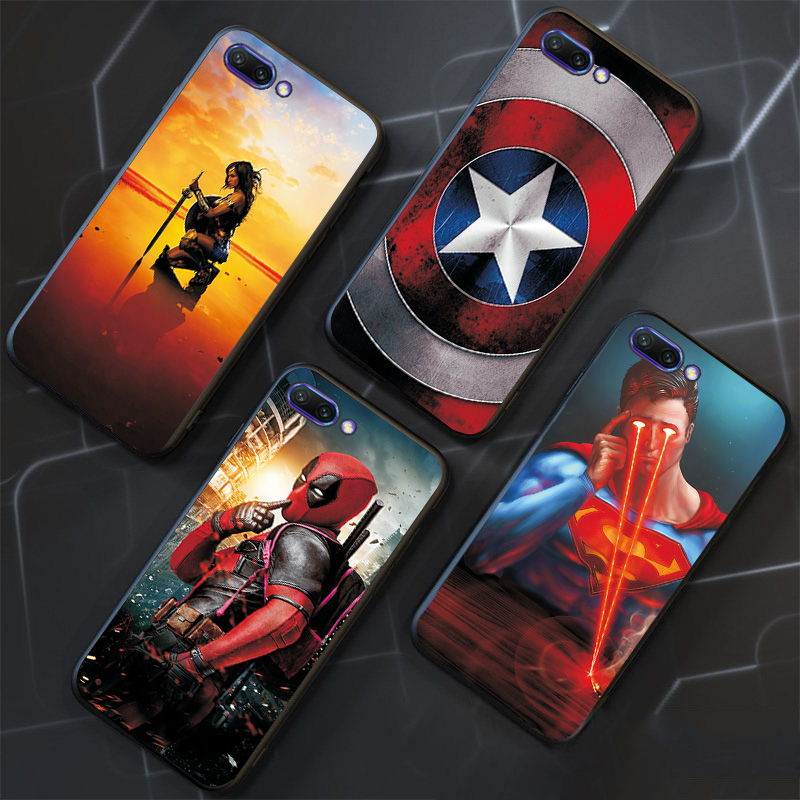 Phone Shell ForHuawei Honor 10i 20i 10 20 Lite V10 V20 Cases Superman Batman Bag For Hua wei Honor 6X 6C Pro Protective Cover(China)