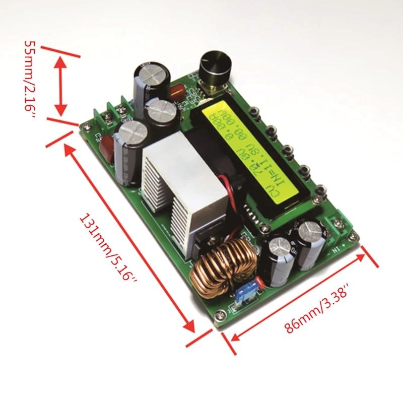 dpx800s dc dc nc cv cc modulo impulsionador impulso 12v 120v mppt 0 15a ajustavel