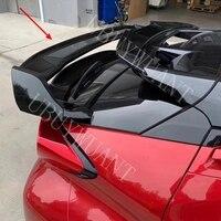 도요타 CHR C-HR 2018 2019 2020 ABS 플라스틱 프라이머 색상 외관 자동차 리어 스포일러 지붕 테일 트렁크 부팅 윙 장식